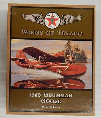 Wings of Texaco 1940 GRUMMAN GOOSE 4th In The Series Coin Bank - NIP