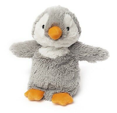 Intelex Cozy Plush Penguin Fully Microwavable Heatable Bed Time Warmer Soft Toy
