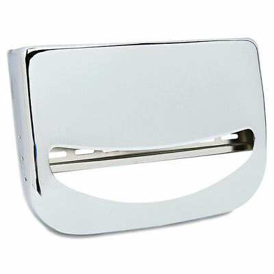 Boardwalk Toilet Seat Cover Dispenser, 16 x 3 x 11 1/2, Chrome  KD200 New