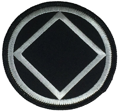 Alcoholics Anonymous Symbol Aa Patch Triangle 12 Twelve Step