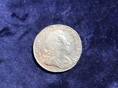 1717 George I Shilling Ef Rare In This Grade