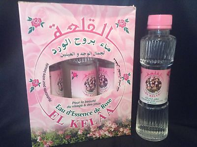 Eau Essence de Rose Hydratante & Nettoyante 125ml 100% Pure & Naturelle