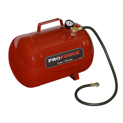 ProForce FT5 NPT 5-Gallon Horizontal Portable Air Tank with Handle New