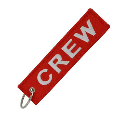 Llavero CREW TRIPULACION REMOVE BEFORE FLIGHT Avión A380 777 Airbus Llaves