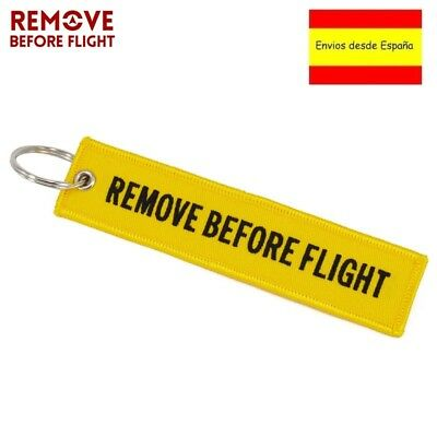 Llavero REMOVE BEFORE FLIGHT Avión A380 777 Airbus Maletas Mochilas Llaves 2