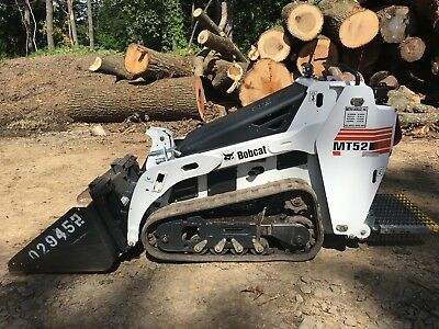 2013 Bobcat MT52 Mini Skid Steer