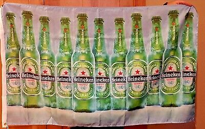 Heineken Beer Flag 3' X 5' Deluxe Indoor Outdoor Banner man cave bar