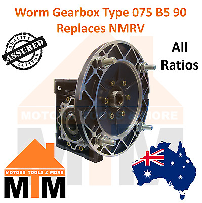Worm Gearbox Industrial Type 075 B5 90 Replaces NMRV