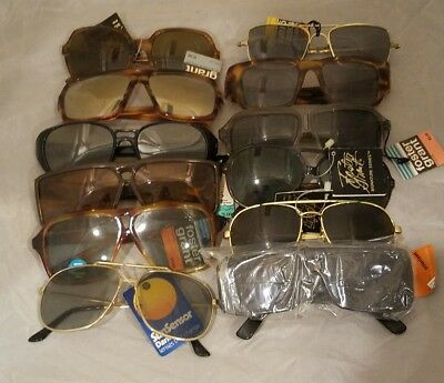 Lot of 12 Vintage Foster Grant Adult Sunglasses with Tags - NOS