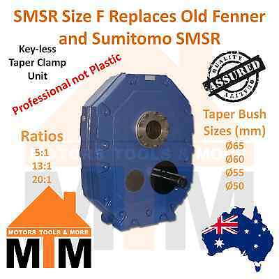 SMSR Shaft Mounted Speed Reducer Size F Replace Fenner Sumitoto All Ratio