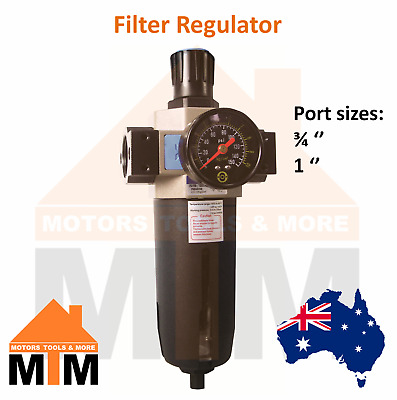 Filter Regulator for Pneumatic systems Air Compressor Larger Ports FR