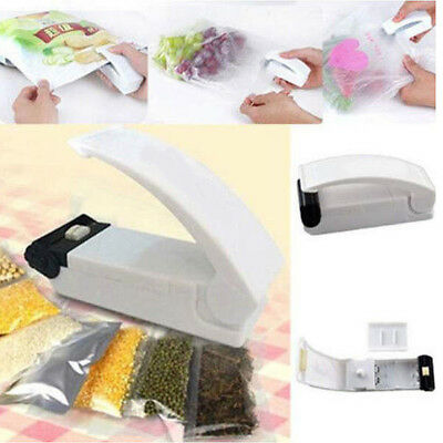 Portable Mini Handheld Bag Sealing Machine Heat Re-Sealer Instant Manual Seal Da