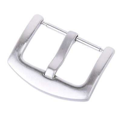 5X(Buckle Stainless Steel clasp w/ Solid Spring Bar for 22mm Bracelet Watch Ba I