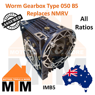 Worm Gearbox Industrial Type 050 B14 80 Replaces NMRV