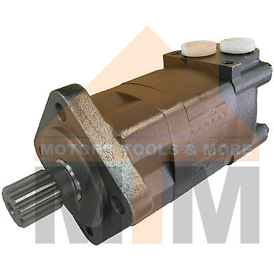 Orbital Hydraulic Motor SMS125 Replaces Danfoss OMS 125, Parker TG