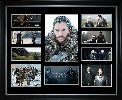 Jon Snow Season 7 Limited Edition Framed Memorabilia
