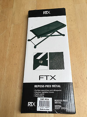footrest for guitarist RTX FTX