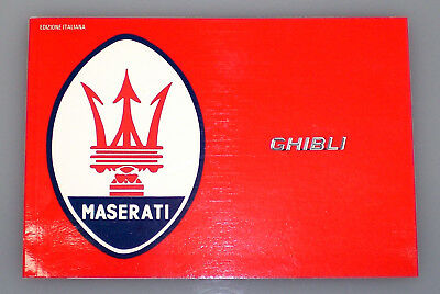 Libretto Collection Ghibli Maserati