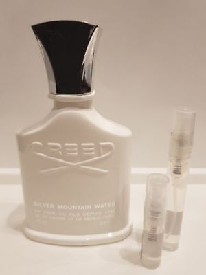SILVER MOUNTAIN WATER by Creed - EDP - 2ml sample - 100% GENUINE - FREE SHIPPING