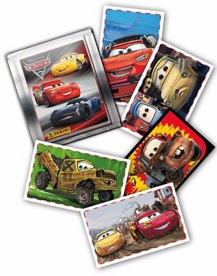 10 Panini Disney Pixar Cars 3 Stickers (Choose from list)