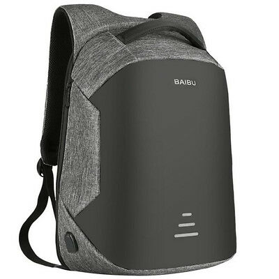 """Anti-Thief Waterproof External USB Charge 16"""" Laptop Backpack Anti-theft Bag New"""