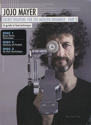 Jojo Mayer Secret Weapons for the Modern Drummer Part 2 Drum 3 DVD Set