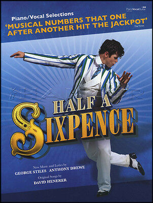 Half A Sixpence Piano Vocal Guitar Sheet Music Book New Musical Soundtrack