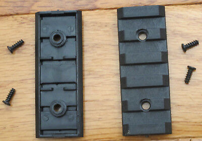 2 Pieces of 20 mm Picatinny/Weaver Rail 2 inch Long for Attaching Laser, Scope