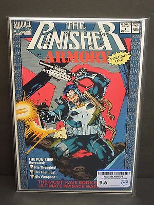Marvel Comics The Punisher Armory #1 1990-Cbcs Raw Grade 9.6