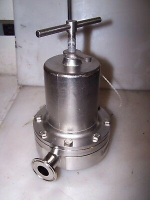"Richards Industries 1"" Sanitary Air Augmented Back Pressure Valve 15515-147"