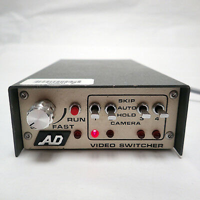 American Dynamics Ad1404 Camera Input Video Switcher