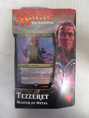Magic: The Gathering Aether Revolt Planeswalker Tezzeret Master Of Metal Rc 4738
