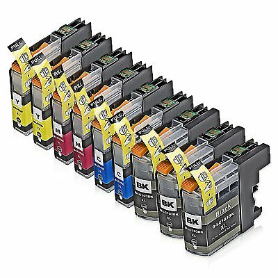 9 Pk Non-Oem Brother Lc101 Lc103 Xl Ink Cartridge For Mfc-J450Dw J475Dw J4710Dw