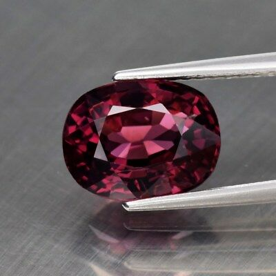 3.07ct 9.5x7mm VS Oval Natural Pinkish Purple Spinel, M'GOK