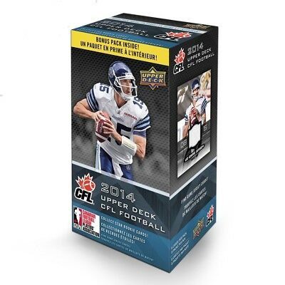 2014 Upper Deck CFL Football, 8 Pack Box