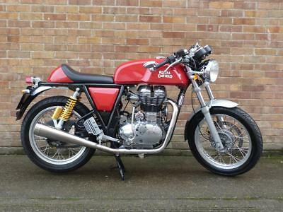 2015 15-PLATE ROYAL ENFIELD CONTINENTAL GT 535cc ** ONLY 512 MILES FROM NEW **