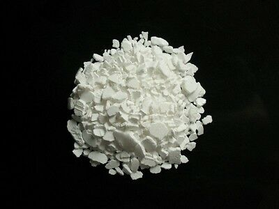 Calcium Chloride, Dihydrate Flake Food Grade CaCl2, 77% 100g-250g-500g-1000g