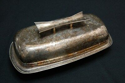Antique Solid 0.925 Sterling Silver Towle Butter Dish  - 202g