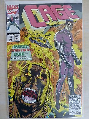 """Cage Issue 11 """"First Print"""" - 1993"""