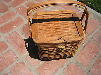 Longaberger basket 1992 with Liner