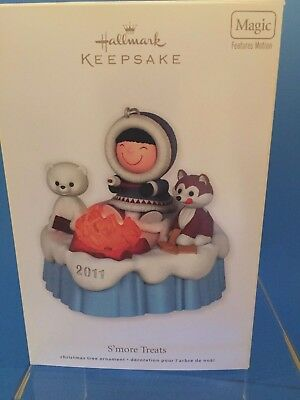 2011 Hallmark Frosty Friends Complement, S'more Treats, Magic, Features Motion