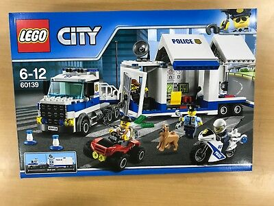 Lego  City Police Track Command Headquarters 60139