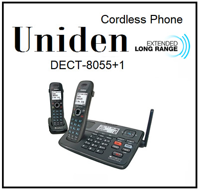 Uniden Dect 8055+1 Extended Digital Technology Cordless Phone System