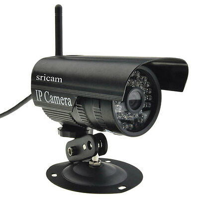 720P HD Wifi IP Camera Network Outdoor Monitor Security Waterproof Night Vision