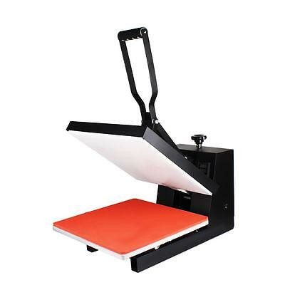 "15""X15"" Clamshell T-shirt Heat Press Machine Sublimation Transfer Phonecase DIY"