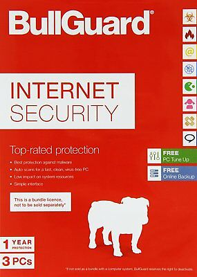BullGuard Internet Security - 1 Year 3 PC