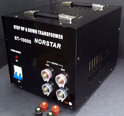 10000 watt Step Up Step Down Voltage Transformer Converter With Fuse Protection