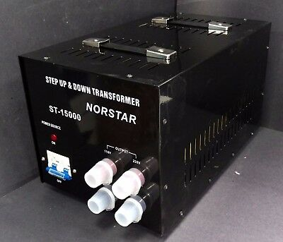 15000 watt Step Up Step Down Voltage Transformer Converter With Fuse Protection