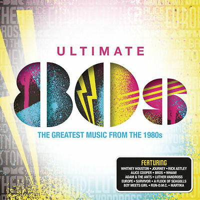 ULTIMATE 80s VARIOUS ARTISTS 4 CD NEW