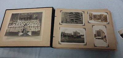 #RR. PHOTO ALBUM SHOWING NURSING  & PERSONAL  LIFE IN 1930/ 40s
